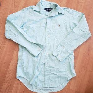 Ralph Lauren Baby Blue Button Up Shirt